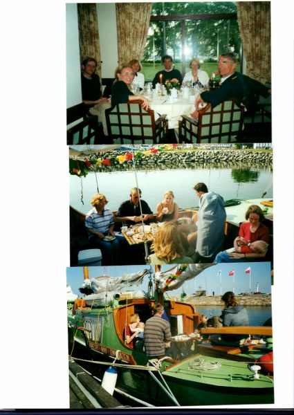 Ingrid's verjaardag vieren in Simrishamn