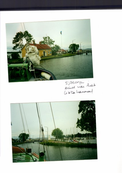 Sjotorp (einde Gotakanaal)