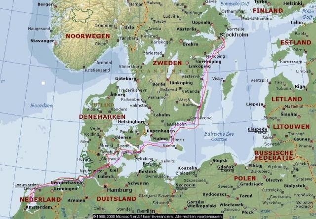 Reis Scandinavie 2003