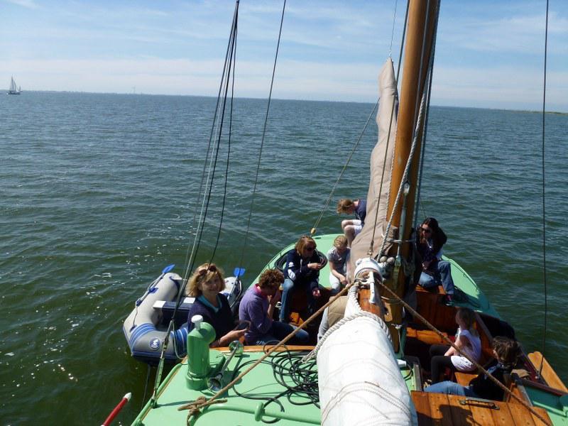 Pinksteren op het IJsselmeer
