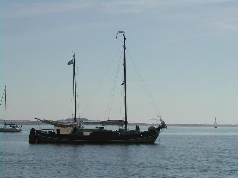 Voor anker in de Limfjord